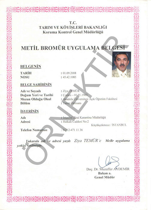 Metil Bromur